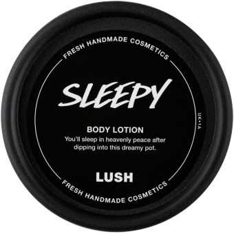 Sleepy body lotion