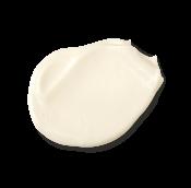 A white, creamy moisturiser