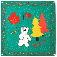 Butterbear furoshiki para envolver tus regalos