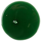 Um circulo verde do gel Tramp para o duche