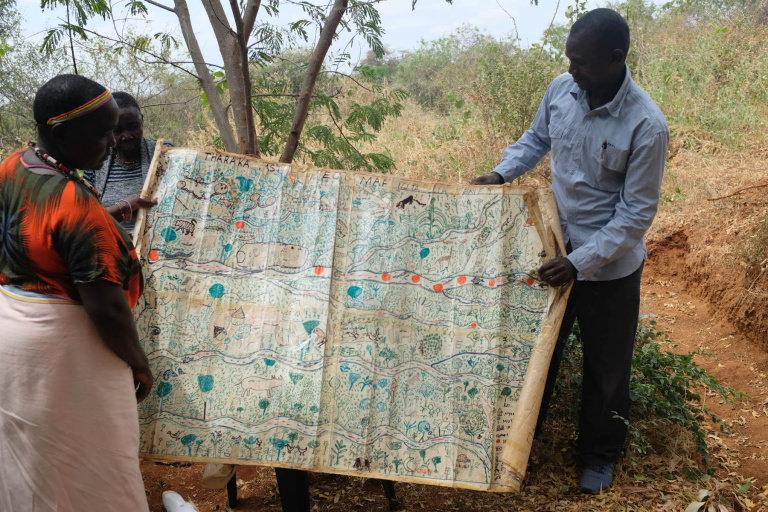 Sabella and Venancio show an eco-map