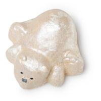 Ein Schaumbad in der Form eines Eisbären