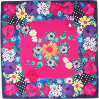 Wild Flowers Knot Wrap
