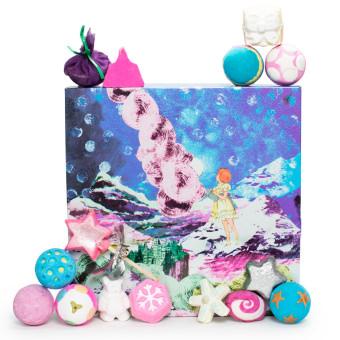 Confezione regalo di Natale Dreamscape e il suo contenuto