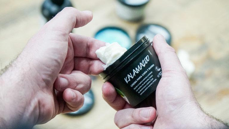 La crema para el cuidado de la barba Kalamazoo