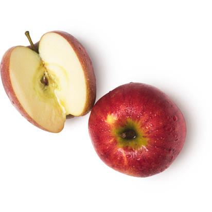 Ingrediens fruktkött från färska äpplen