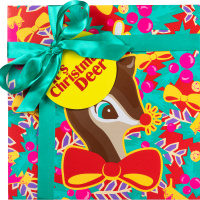 its christmas deer front image