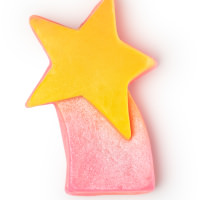 Shooting stars pink soap