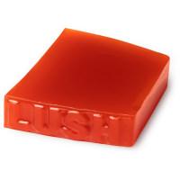 Eine rote Seife