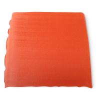 un bloque de color naranja del jabón karma