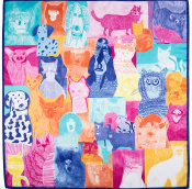 Cats and Dogs - Knot Wrap