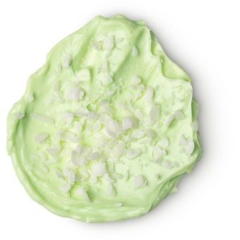 light green coloured splodge of lime bounty body butter