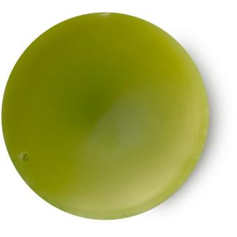 What would love do? perfume sólido dulce de color verde