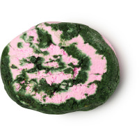 pink and green swirled bubble bar