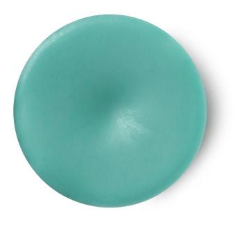 The Breath Of God perfume sólido tamaño viaje vegano de color azul