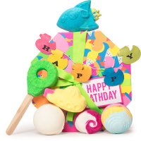happy bathday 2019 gift set