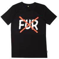 no fur t-shirt swag