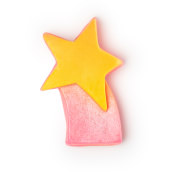 shooting star christmas soap