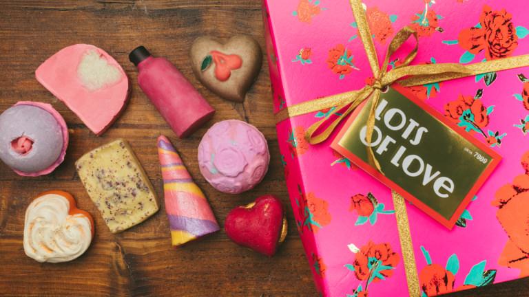 Lots Of Love Valentinstags-Geschenk Box