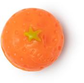 satsuma jabón de navidad en forma de satsuma y de color naranja