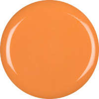 an orange circle of the tornado toothpaste jelly