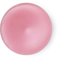 Um circulo rosa do perfume American Cream