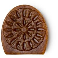 Sabonete de rosto Movis castanho com pão integral para esfoliar e revitalizar a tua pele