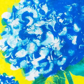 hydrangea furoshiki