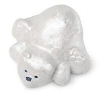 polar bear shaped bubble bar