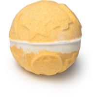 yog nog é  uma bomba de banho quente com cravinho picante e ylang ylang