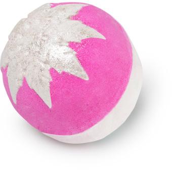 web snow fairy glitterball bath bomb