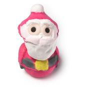 santa gift bomba de baño de edición limitada de navidad en forma de papa noel