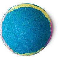 Intergalactic bomba de baño de color azul para un baño mentolado