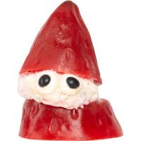 Strawberry santa é um sabonete de Natal vermelho em forma de Pai Natal com sumo de morango para uma espuma cremosa