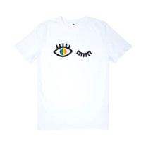 rainbow eye t-shirt