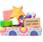 a stargazing gift with a baked alaska and shooting stars soap