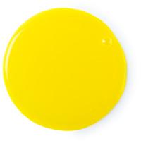 Um gel para o duche amarelo