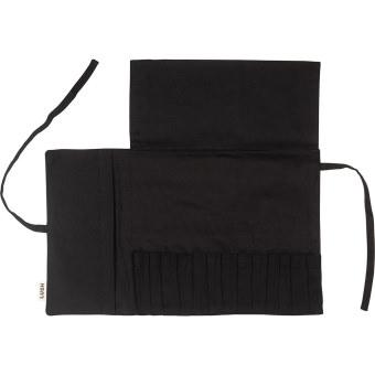 Its a wrap é uma bolsa de algodão orgânico para guardares os teus pincéis