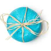 sea salt bombshell bomba de baño gigante de color azul y lleno de sal marina