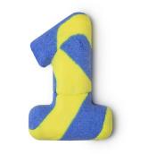 Birthday Number One - Spumante da bagno speziato a forma di numero 1