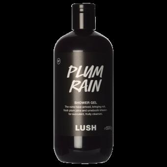 Garrafa de gel de duche Plum Rain