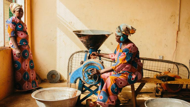 bolgatanga ghana ojoba womens shea cooperative