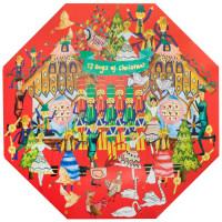 Confezione regalo di Natale 12 Day of Christmas (calendario dell'avvento)