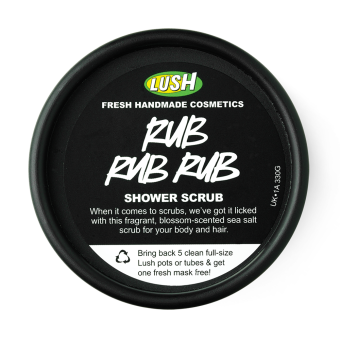 lush shower scrub review