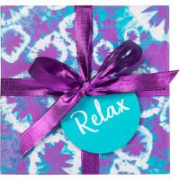 purple patterned gift box