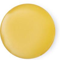 Circulo amarelo do perfume Love