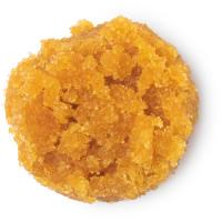 Oranges Pumpkin Spice Lippenpeeling aus Zucker