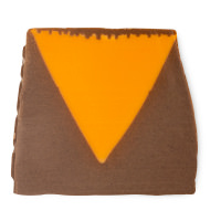 orange and brown soap