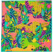 its a jungle out there knot wrap