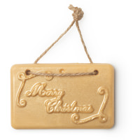 Merry Christmas Bath Tablet